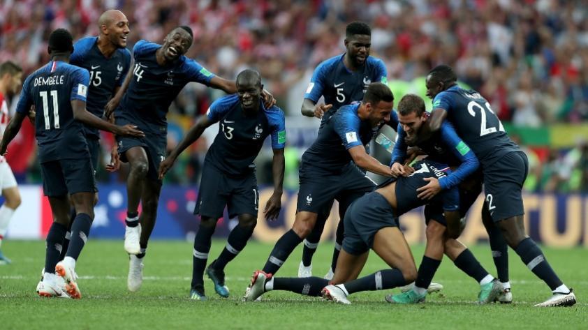 ¡Francia es el nuevo campeón del Mundo tras vencer 4-2 a Croacia!