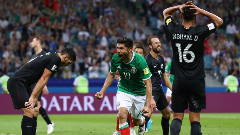 En un partido intenso, México venció a Nueva Zelanda