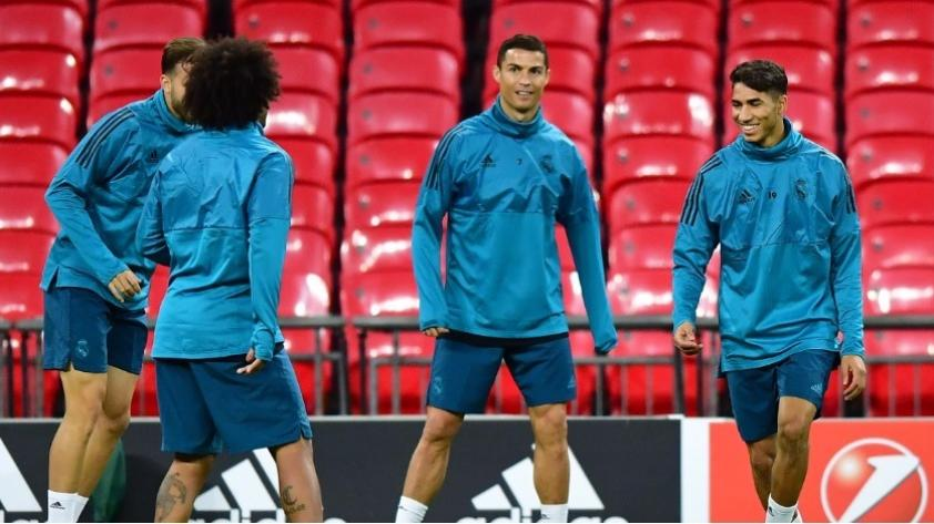 Los detalles de la práctica de Real Madrid previo al partido con Apoel por Champions League