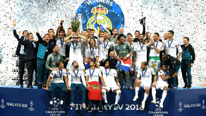 ¡Real Madrid es campeón por tercera vez consecutiva de la  Champions League!