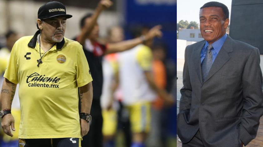 ¡Rivales en la cancha! Diego Armando Maradona incluyó a Teófilo Cubillas en su lista de los grandes rivales con los que se enfrentó