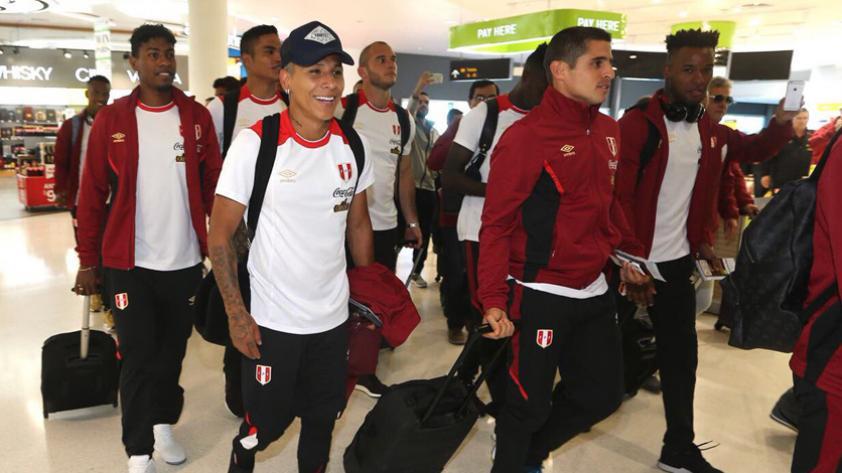 Selección Peruana: La bicolor llegó a Nueva Zelanda para afrontar el repechaje