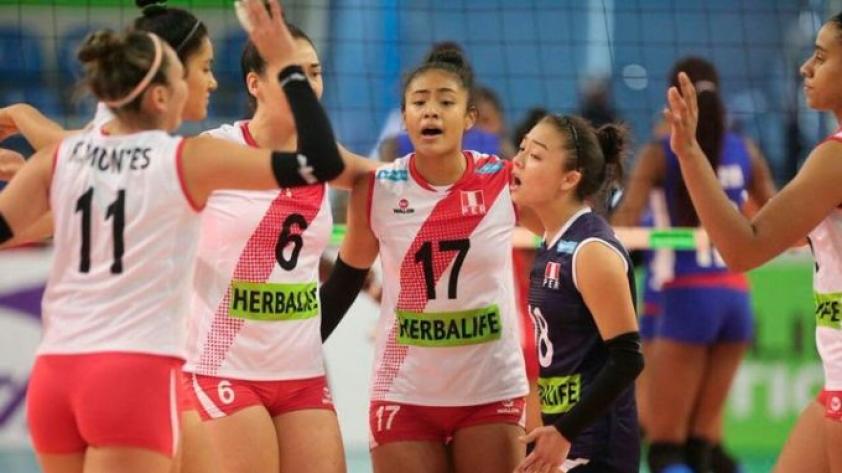 #ModoVóley: Perú venció 3 - 2 a Argentina en el Final Four sub 18