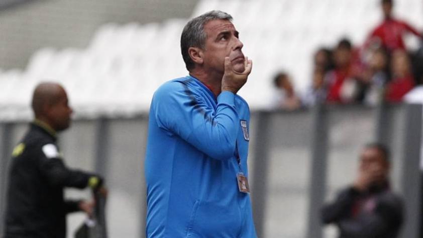 Alianza Lima: Bengoechea conforme con el desempeño de su equipo ante Sport Boys