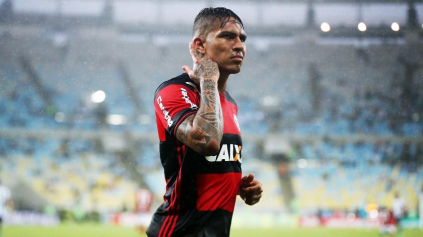Paolo Guerrero es reconocido por sus dos años en Flamengo
