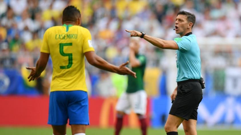 Casemiro no jugará los cuartos de final de Rusia 2018
