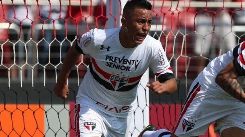 Sao Paulo destaca el gran rendimiento de Christian Cueva a través de su web oficial