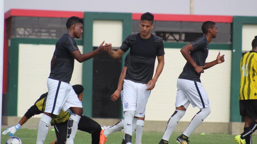 Alianza Lima venció 3-0 a la Selección de Chincha en amistoso