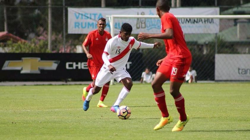 La selección Sub-18 venció a Alianza Lima en la Copa Mitad del Mundo