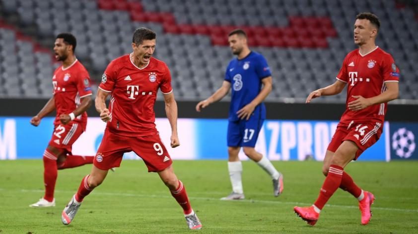 A paso firme: Bayern Munich goleó 4-1 al Chelsea por los octavos de final de la Champions League