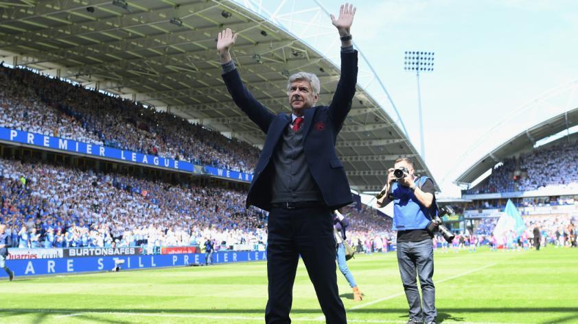 Wenger, tras dirigir su último partido con el Arsenal: