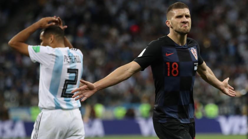 """""""Quería la camiseta de Messi, pero los argentinos me causaron mala impresión"""", declaró Rebic"""