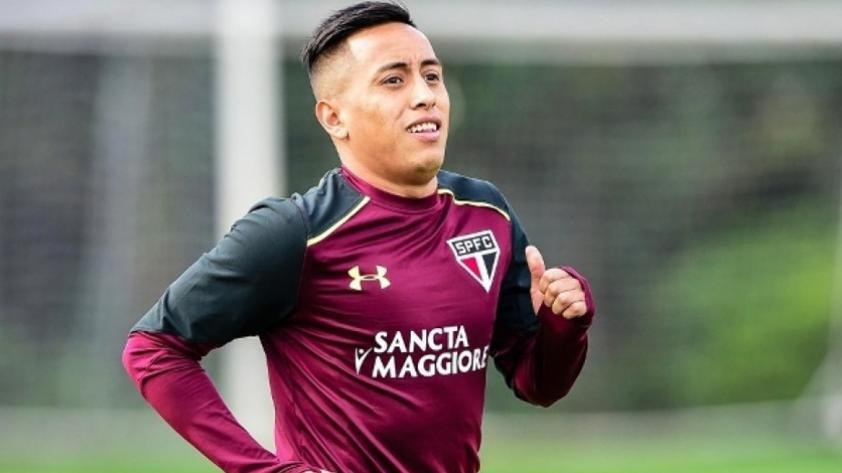Selección Peruana: Christian Cueva volvió a los entrenamientos con Sao Paulo