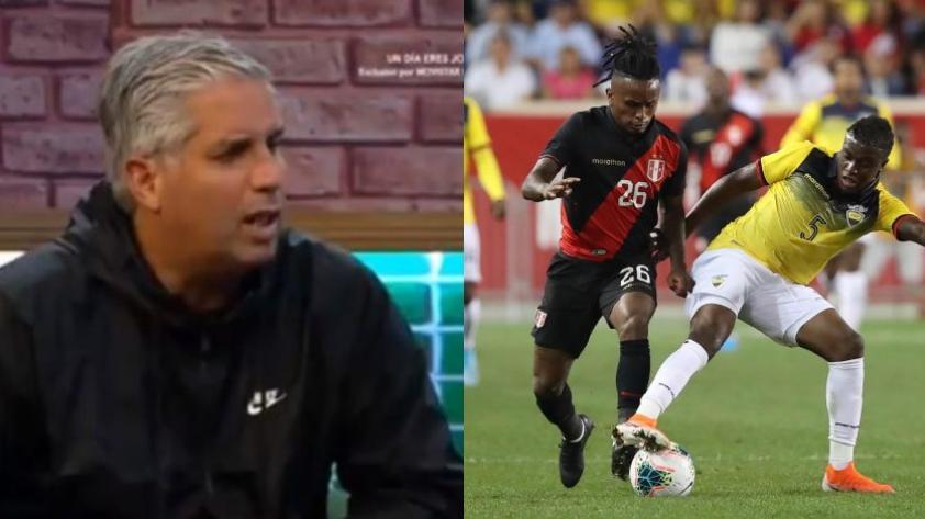 Diego Rebagliati tras la derrota de Perú 1-0 ante Ecuador: