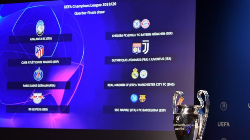 Champions League: conoce los duelos y fechas de los cuartos de final del torneo