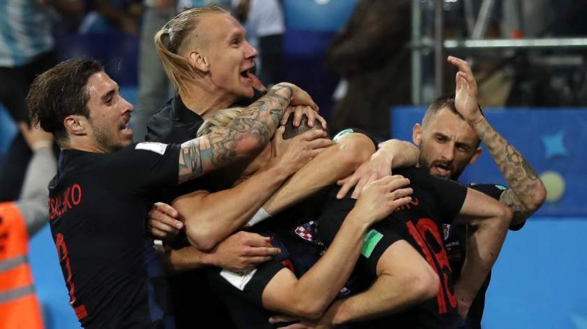 Croacia vence 3-0 a la selección argentina por la segunda jornada del grupo D