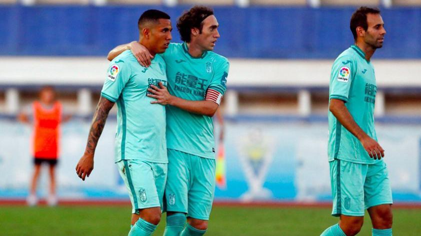 Sergio Peña anotó para el Granada en amistoso ante el Marbella