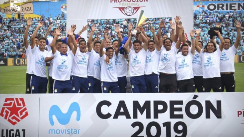 Sporting Cristal se coronó campeón del Torneo de Reservas