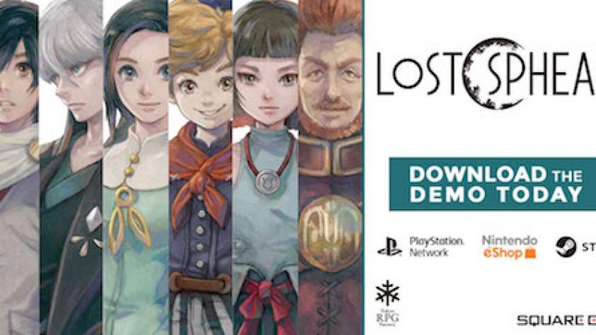 El demo de LOST SPHEAR ya está disponible para PlayStation 4, Nintendo Switch y STEAM