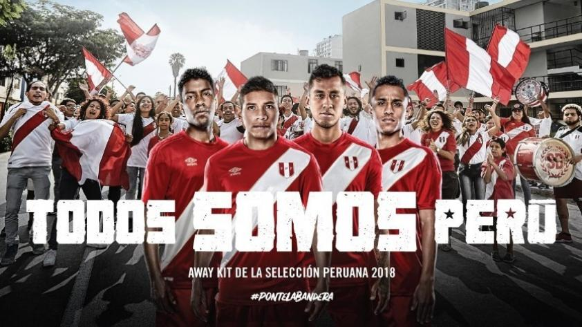 Selección Peruana: esta será la camiseta alterna para Rusia 2018