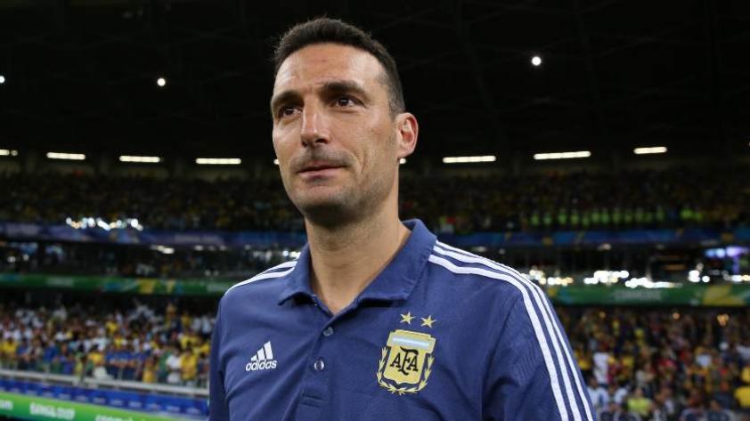 Lionel Scaloni afirma que por méritos Argentina debió pasar a la final de la Copa América