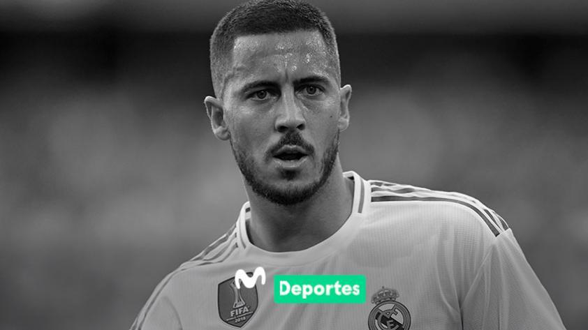 ¡De malas! Eden Hazard lesionado y se pierde el debut de Real Madrid en LaLiga