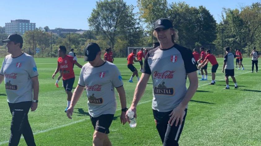 Selección Peruana: el cuadro blanquirrojo realizó su segundo día de entrenamiento en Estados Unidos (VIDEO)