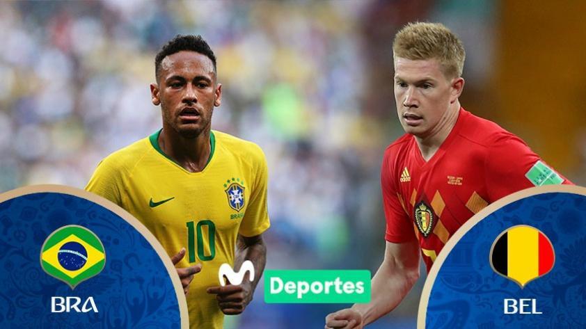 Brasil vs. Bélgica: día, horarios y canales de partido por los cuartos de final de Rusia 2018