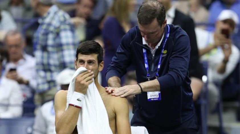 Pronto retorno: Novak Djokovic se está recuperando para su próxima gira en Asia