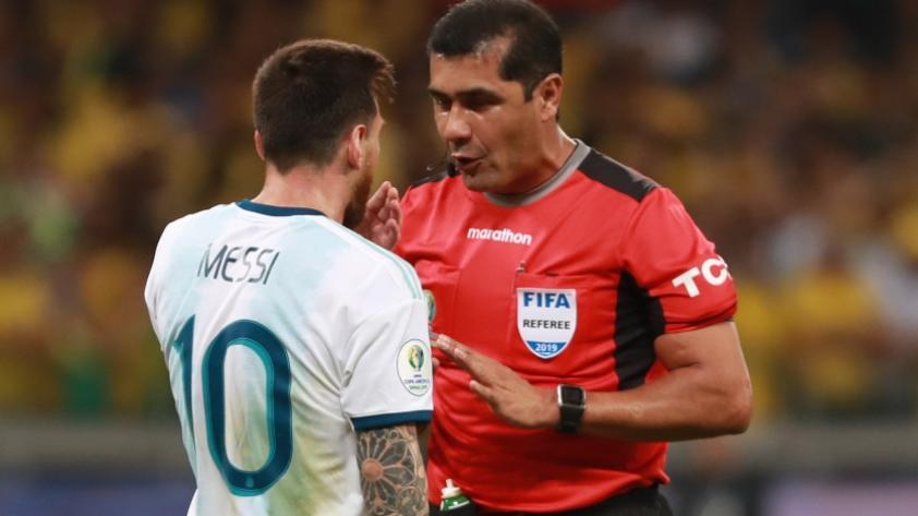 Su versión: el árbitro Roddy Zambrano habló luego de su polémico arbitraje en una de las semifinales la Copa América