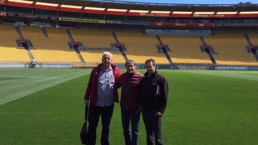 Afinando detalles: miembros de la Selección Peruana reconocieron estadio de Nueva Zelanda