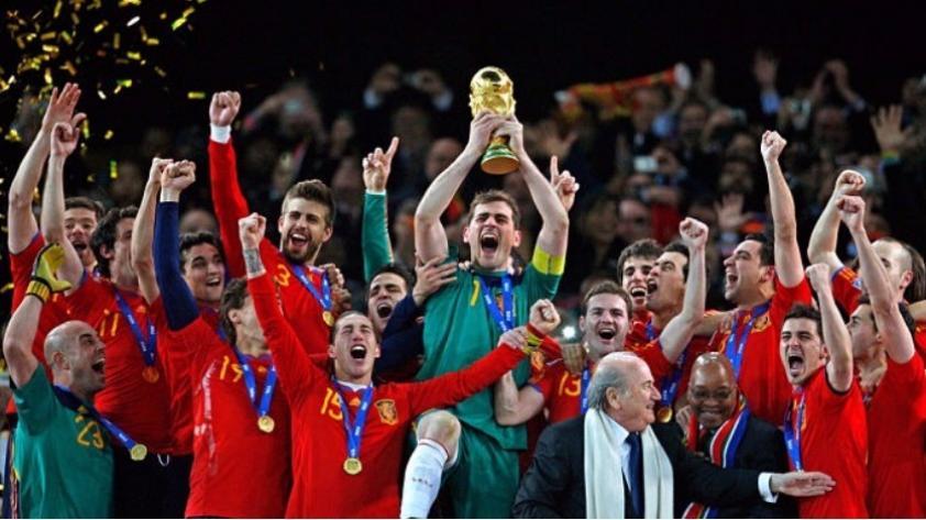Un día como hoy España se coronó campeón del Mundo en Sudáfrica 2010