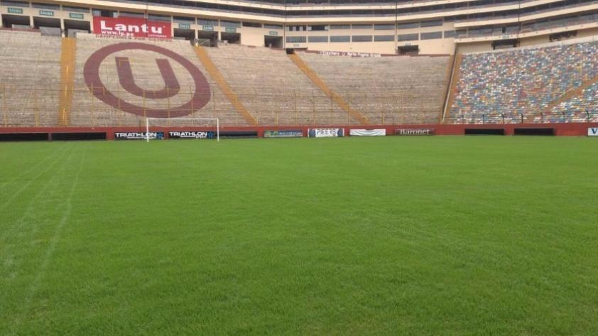 Selección Peruana: ¡La cancha del Estadio Monumental va quedando lista para el partido ante Bolivia!
