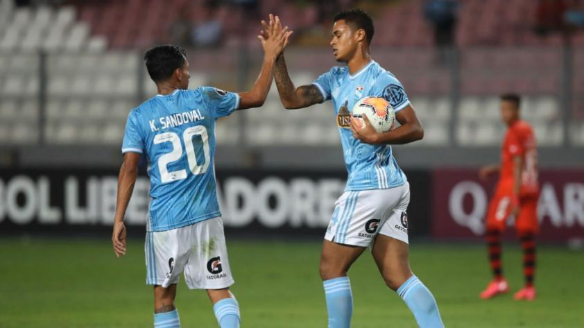 ¡Se despiden con un triunfo! Sporting Cristal derrotó 2-1 a Barcelona de Guayaquil por la segunda fase de la Copa Libertadores