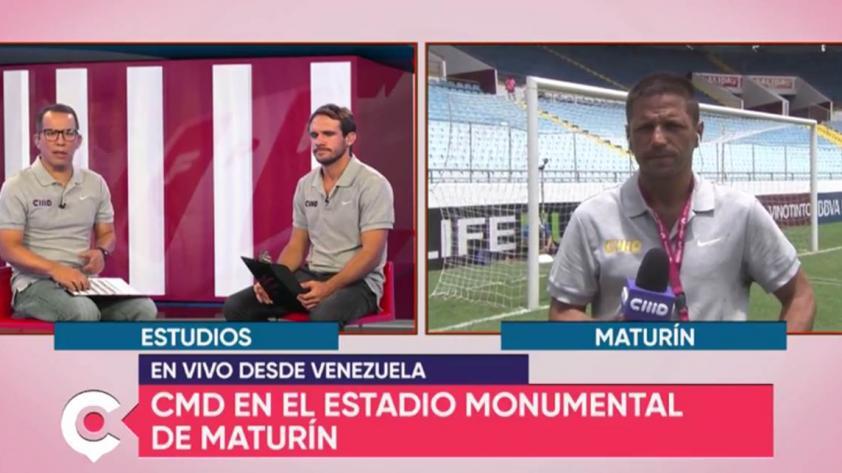 VIDEO - Central Perú: Pedro García te muestra cómo está la cancha en Venezuela