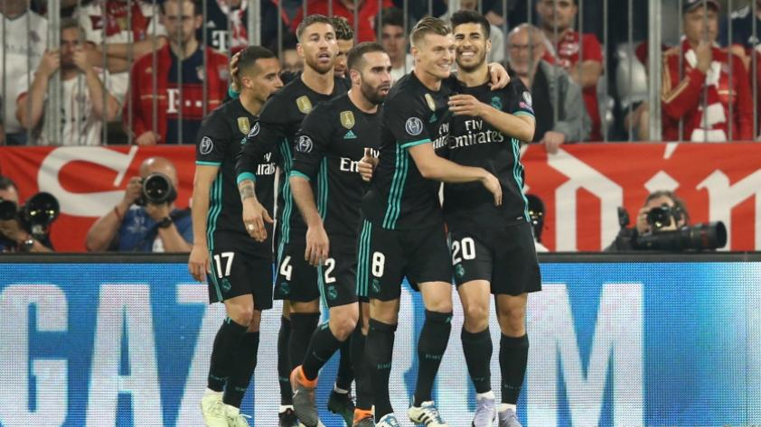 Real Madrid venció 2-1 al Bayern Munich en Alemania y pone un pie en la final de la Champions League