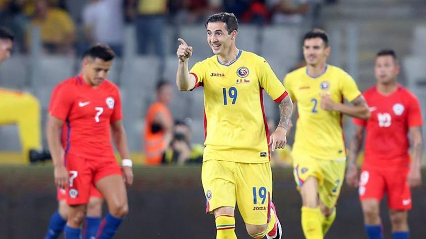 Chile no pudo mantener su ventaja y perdió ante Rumania