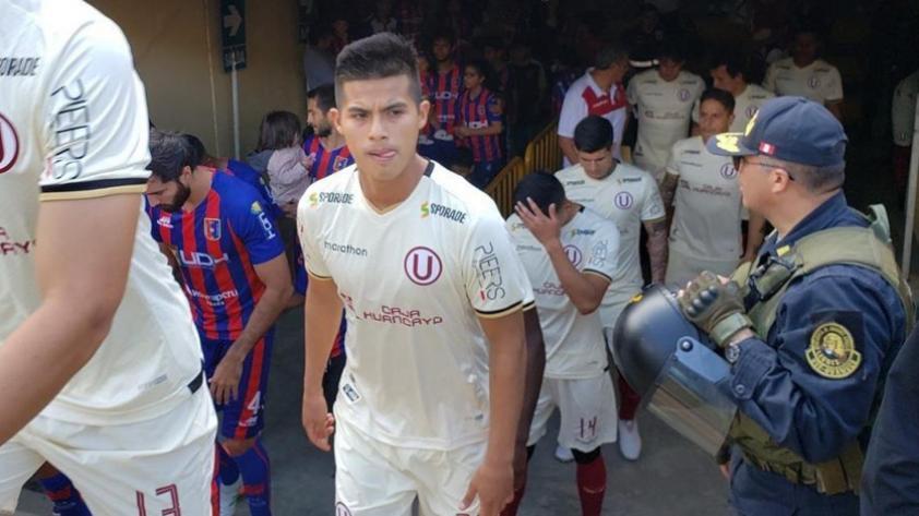 """Anthony Osorio: """"Jugar en la 'U' no es fácil, pero siempre voy a dar todo"""""""