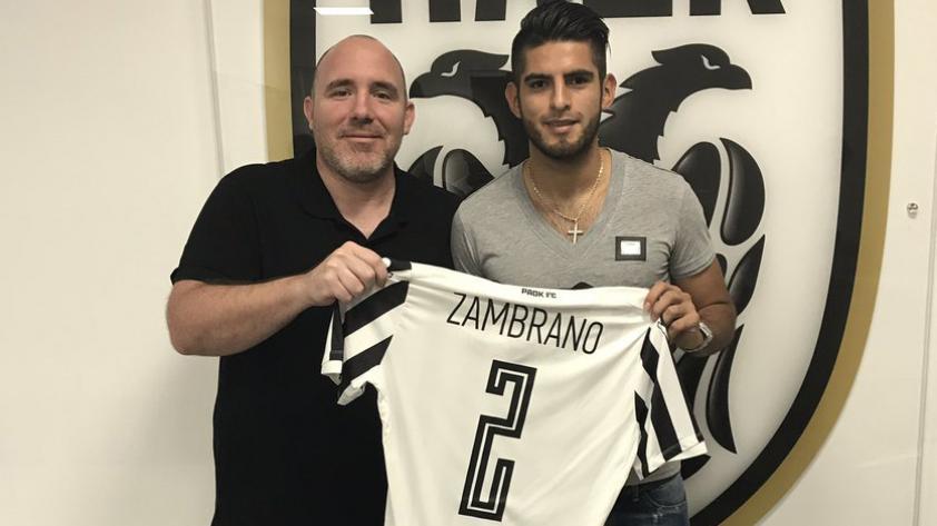 Carlos Zambrano llegó a un acuerdo con el PAOK Salónica de Grecia