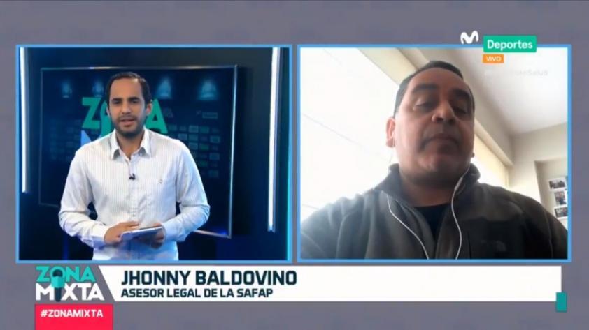 """Jhonny Baldovino en Zona Mixta: """"El médico de Binacional se quedó en Juliaca, no los ha acompañado a Lima"""" (VIDEO)"""