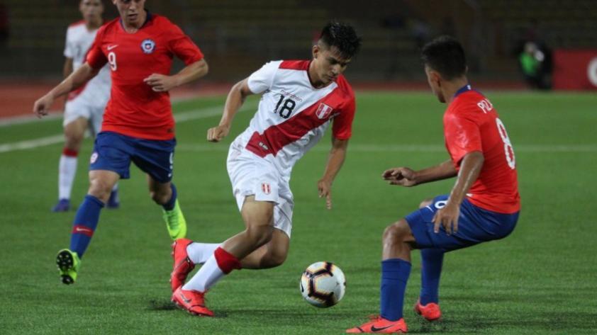 Perú empató 0-0 con Chile en su debut del Sudamericano Sub 17
