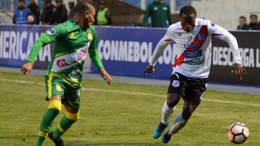 Sport Huancayo ganó 2 -1 a Nacional Potosí pero no le alcanzó para clasificar