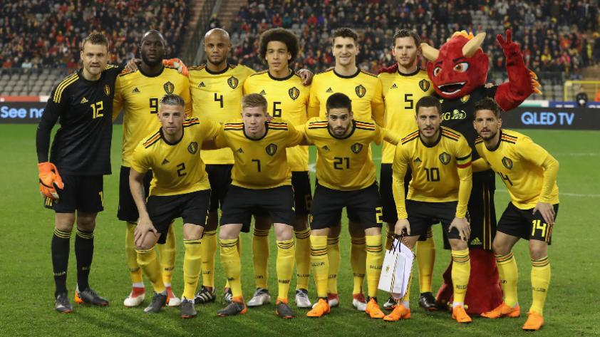 La nómina oficial de Bélgica para Rusia 2018