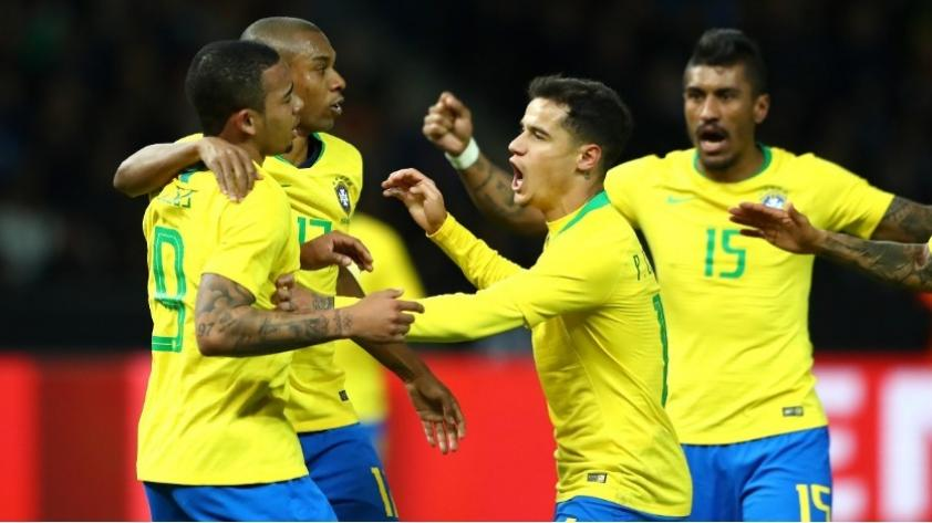 Alemania perdió 1-0 ante Brasil en amistoso previo a Rusia 2018
