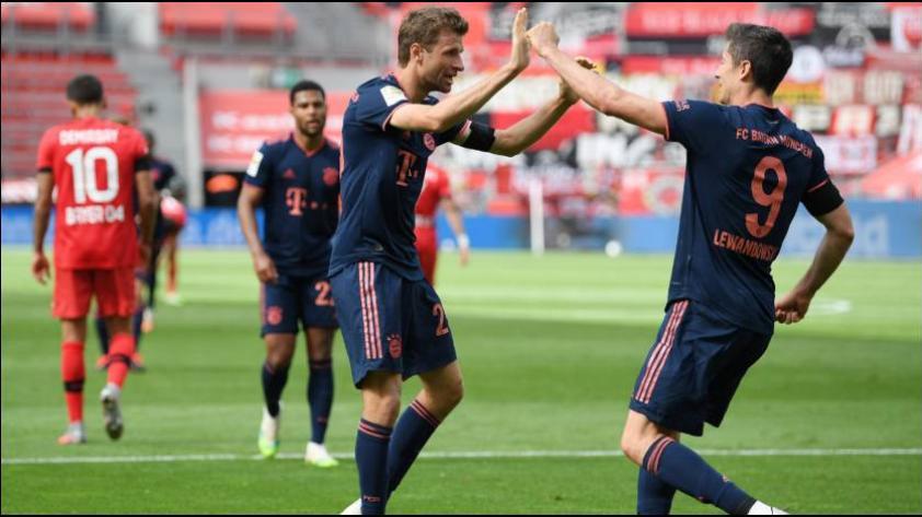 Cada vez más cerca al título: Bayern Munich venció por 4-2 al Leverkusen en la fecha 30 de la Bundesliga