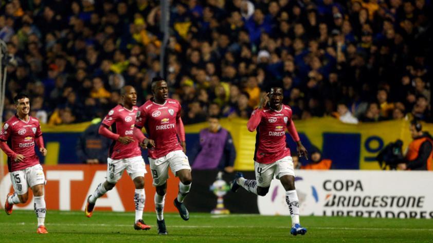 La última vez que se jugó un partido internacional en La Bombonera con público visitante