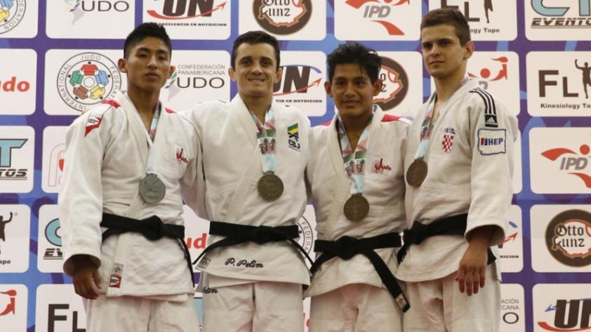 Judocas peruanos cosecharon medallas en importante torneo