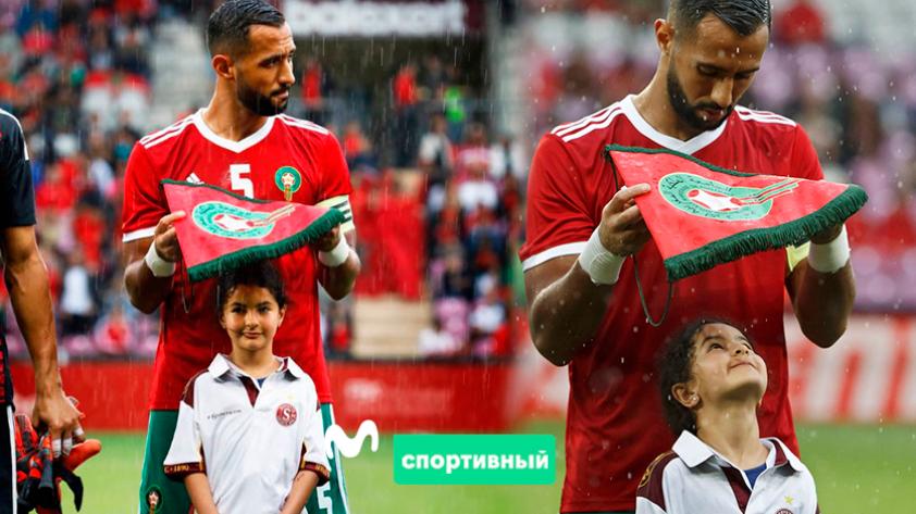 Mehdi Benatia, un héroe sin capa: el espectacular gesto con una niña del que todo Marruecos habla