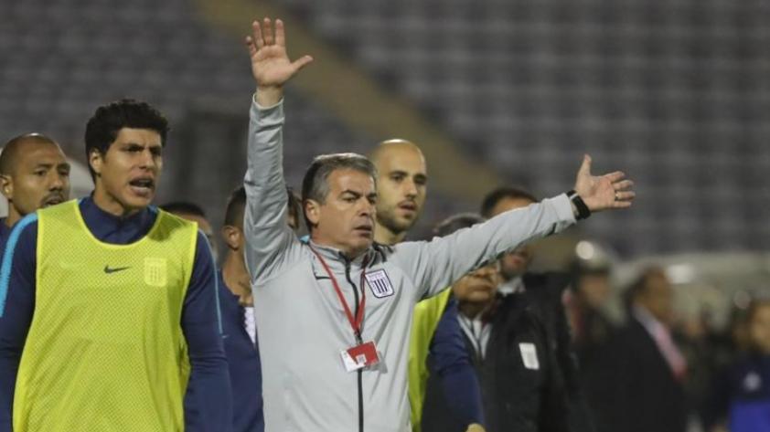 Pablo Bengoechea tras la victoria de Alianza Lima: