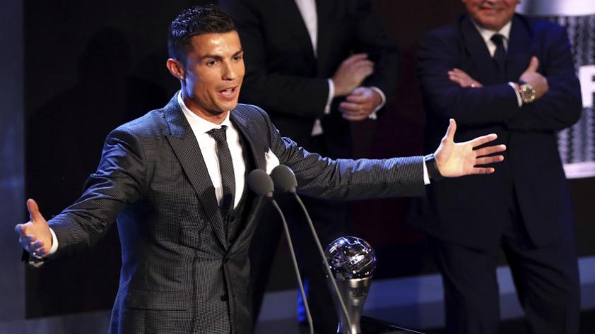 Cristiano Ronaldo elegido como el mejor por la FIFA